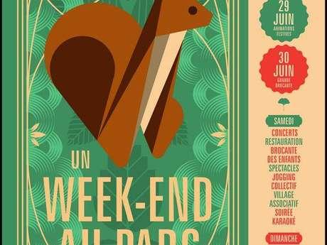 UN WEEK-END AU PARC