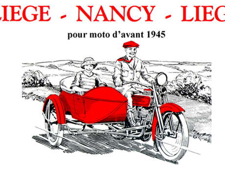 41E RALLYE DE MOTOS ANCIENNES LIEGE NANCY LIEGE