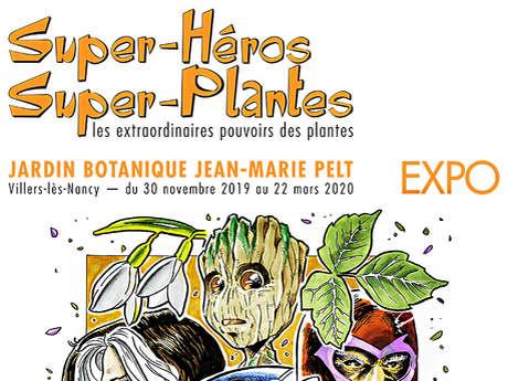 EXPOSITION SUPER HEROS ET SUPER PLANTES