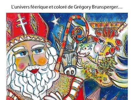 EXPOSITION L'UNIVERS FEERIQUE ET COLORE DE GREGORY BRUNSPERGER