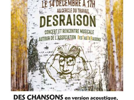 CONCERT ET RENCONTRE MUSICALE DESRAISON