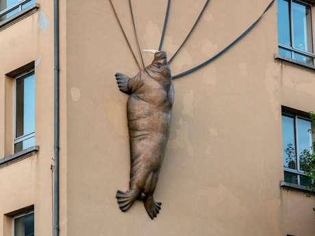 STREET ART - MORSE ATTACKS, OPERATION NEPTUNE SUITE ET FIN