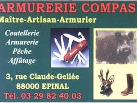 ARMURERIE COUTELLERIE PECHE COMPAS