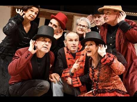 Théâtre : La puce à l'oreille - théâtre de Concoret