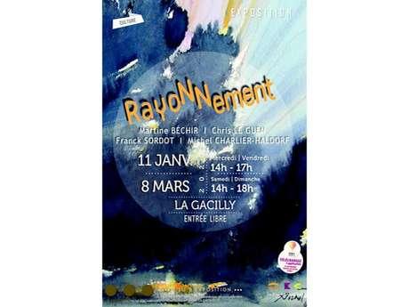 """Exposition """"Rayonnement"""" à La Passerelle"""