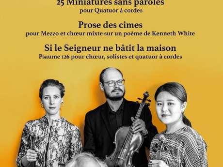 Concert-évènement pour les 25 ans du Quator Elysée: ANNULE
