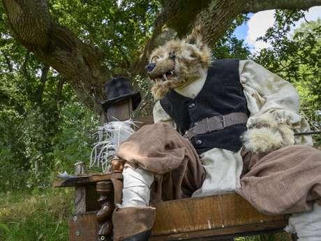 Contes et marionnettes : Les Amours de Merlin et Viviane