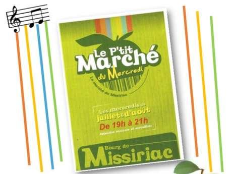 Le P'tit Marché Concert du Mercredi : Acous'Ditz