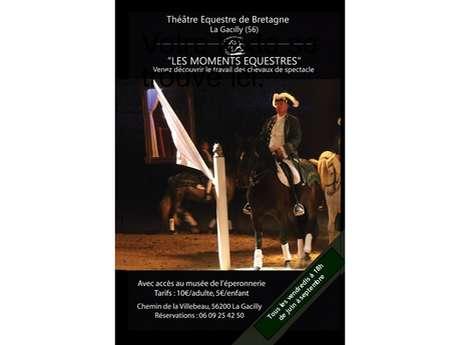 Moments Equestres au Théâtre équestre de La Chapelle Gaceline
