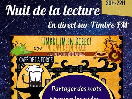 Nuit de la Lecture - Café de la Forge
