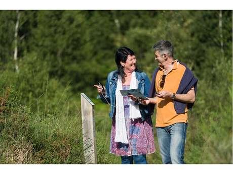"""Balade sonore  """"Sur le bout de la lande"""", réserve naturelle des Landes de Monteneuf"""
