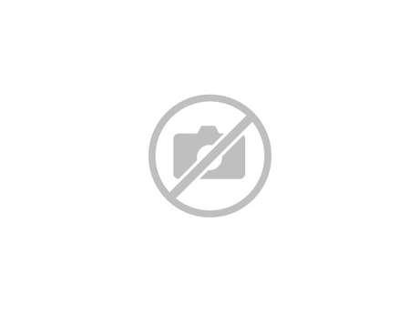 Les vestiges de la chapelle de la Madeleine