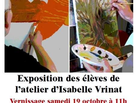 Exposition des élèves de l'atelier d'Isabelle Vrinat