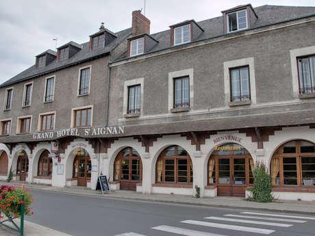 Le restaurant du Grand Hôtel Saint-Aignan
