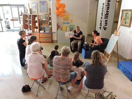Lecture-atelier parent-enfant au Musée d'art moderne Richard Anacréon