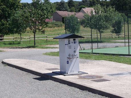 Aire de Camping Car de Saint Germain de la Coudre