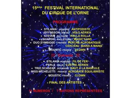 Excursion : Festival International du Cirque