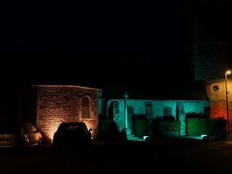 Pierres en Lumières > Chapelle Sainte-Anne
