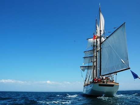 Navigation à bord du trois-mâts goélette Marité