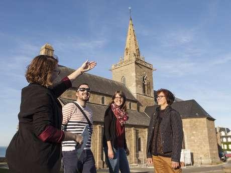 Visite de l'office de tourisme : la Haute Ville et ses remparts