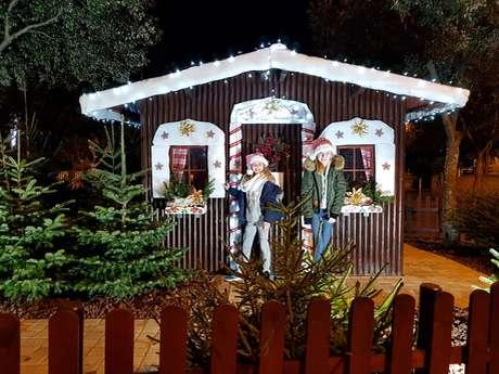 Maison du Père Noël avec animations pour enfants