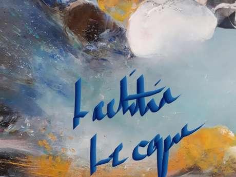 """Exposition """"La montagne dans tous ses états"""" de Laetitia Lecque"""