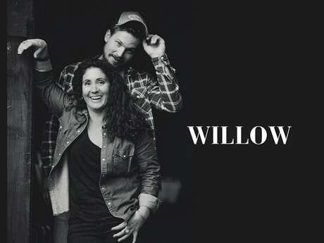 Soirée concert avec le duo Willow