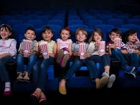 Séance de cinéma dédiée aux enfants