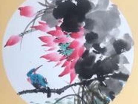 Stage de  Peinture Chinoise avec Xiangnan Guo