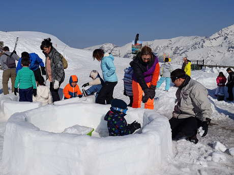 Construction d'Igloos - Petit Esquimau