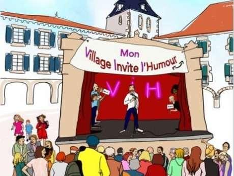 Festival mon village invit l'humour
