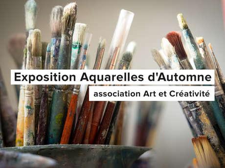 Exposition Aquarelles d'Automne