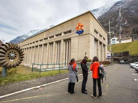 Visites guidées de la centrale hydroélectrique EDF de Pragnères