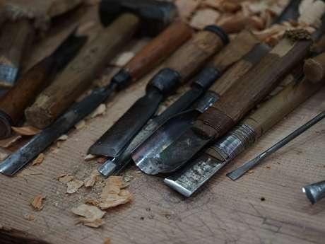 Exposition de sculpture sur bois de Michel Bastien