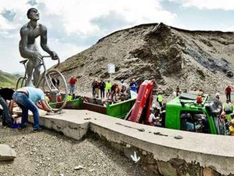 Montée du Géant du Tourmalet - Souvenir Laurent Fignon