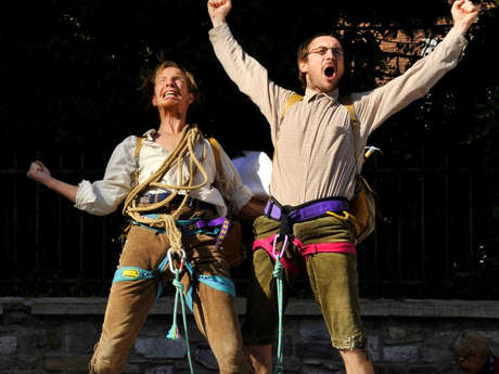 Théâtre burlesque - Der Menschenfresser Berg oder die Besteigung, die Bjørg Schaffers Leben kostete ou La Montagne (titre provisoire) - Cie Les Vrais Majors