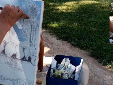 Les artistes au jardin