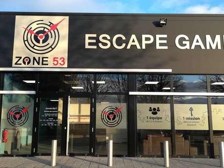 ZONE 53 ESCAPE GAME LAVAL