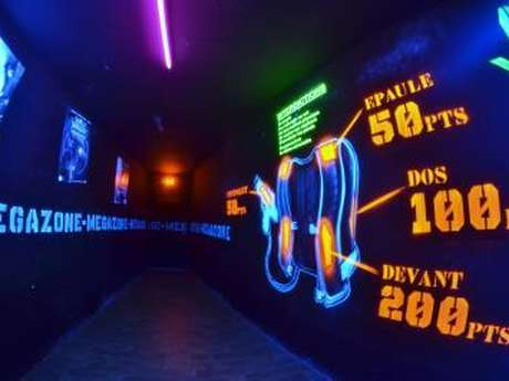 Megazone Laser Games - Pure Mission - Escape Game