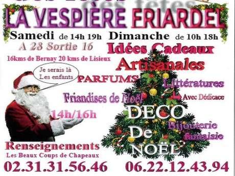 Marché de Noël à la Vespière
