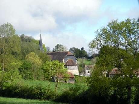Panorama sur l'Oudon - Départ : Saint-Pierre-en-Auge