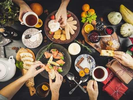 Activité : le dîner anglais et le dîner français!