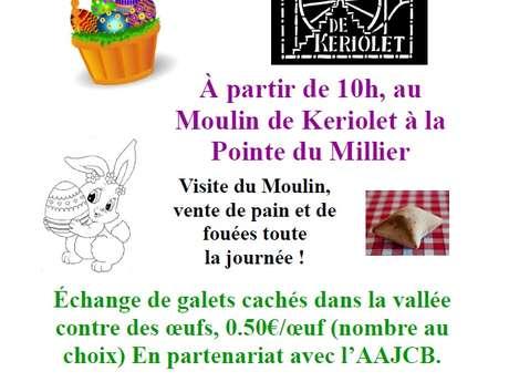 Chasse aux œufs au Moulin de Keriolet