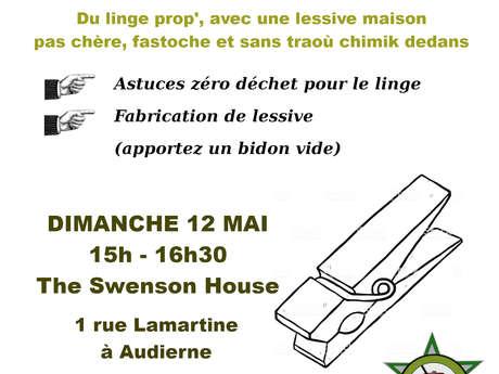 Atelier Lessive Zéro Déchet