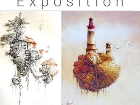 Exposition du mois de mai : Philippe Migné - Gravure et peintures