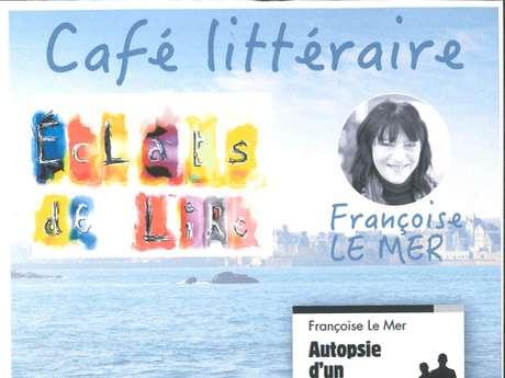 Café littéraire avec Françoise Le Mer