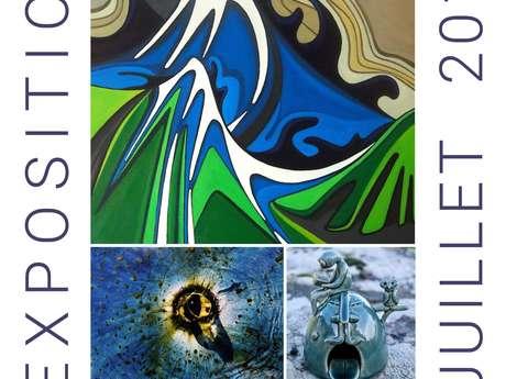 Exposition - Gildas Le Berre - Peintures, photos, céramiques