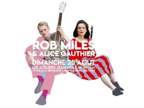 Concert - Rob Miles & Alice Gauthier