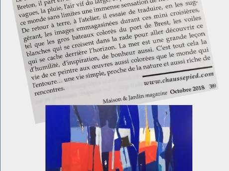 Exposition de Jean-François Chaussepied - Art'Ria