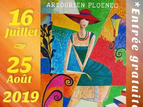 Exposition de peintures Arzourien Ploeneg